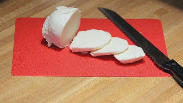 Slicing Mozzarella Tip Portside Cuisine
