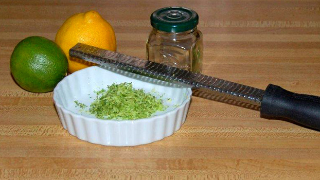 Lemon and Lime Zest