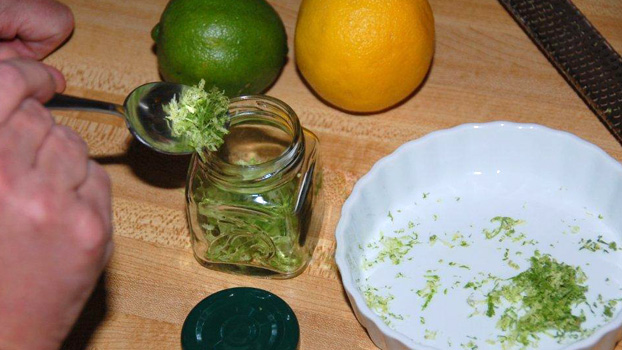 cooking tip Lemon and Lime Zest