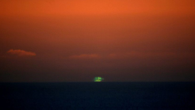 The Green Flash in Santa Cruz