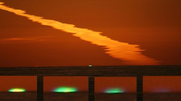 Stages of the Green Flash