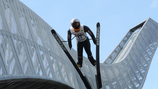 The Holmenkollen Olympic Ski JumpOlso, Norway