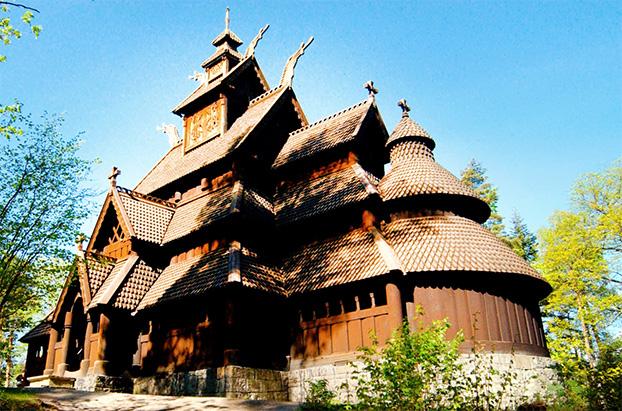 Oslo Folk Museum ChurchOslo, Norway