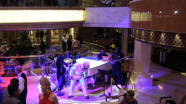 Classic Rock and Roll Party with RhapsodyRegal Princess