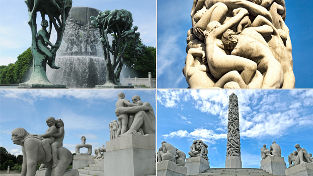The Statues at Vigeland Park.