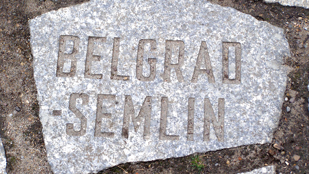 Between 1941 and 1944, approximately 20,000 people perished in the Semlin concentration camp in Belgrade, Serbia.