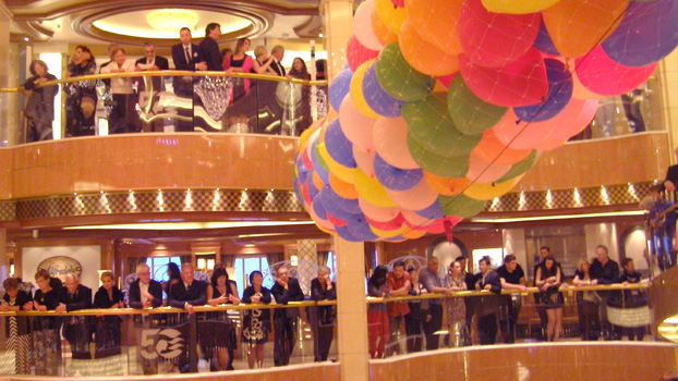 Regal Princess 50th Anniversary Celebration