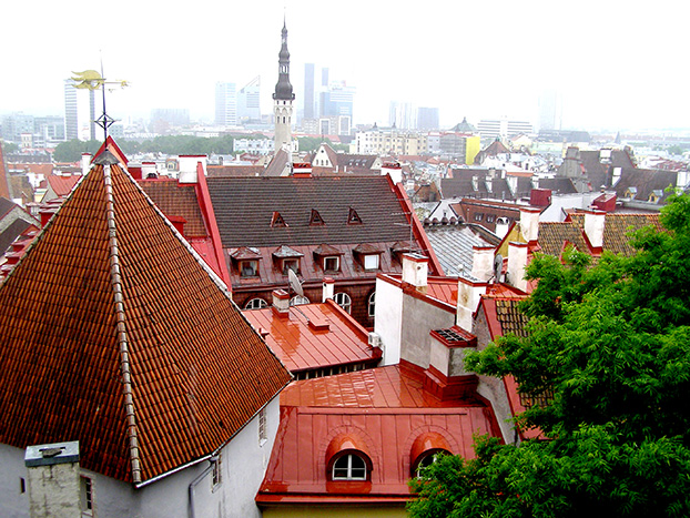 Tallinn is an exceptionally complete and well-preserved medieval northern European trading city on the coast of the Baltic Sea.