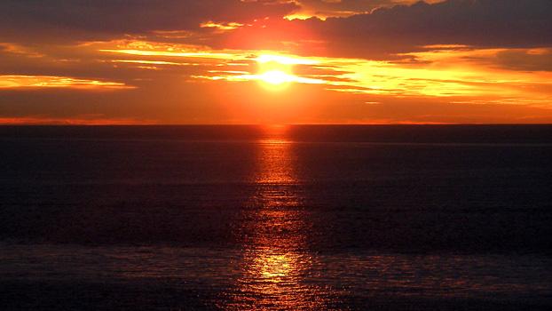 Midnight Sunset on the Regal Princess