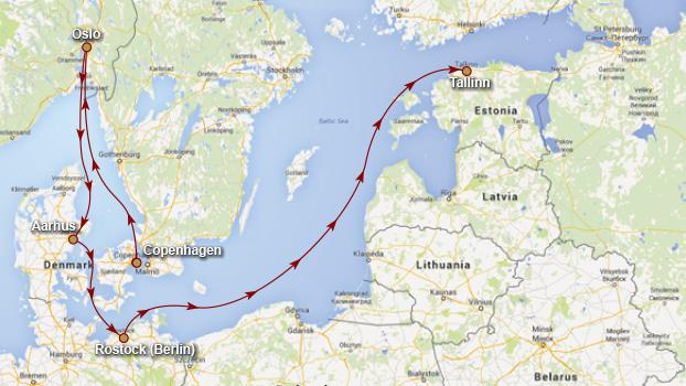 Baltic Cruise 2015 Regal Princess