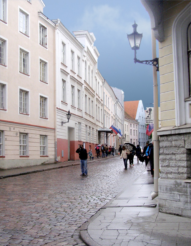 Upper Old Town Walking Tour Tallinn Estonia