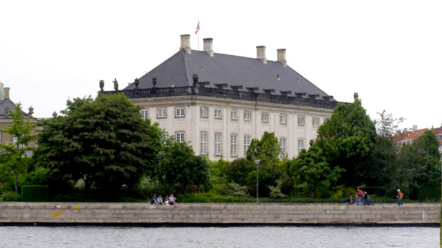 Amalieborg Palace - Queen's Winter Residence, Copenhagen