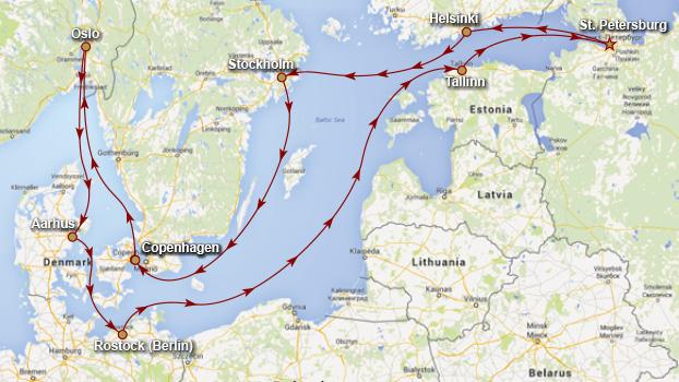 Royal Princess Baltic Cruise 2015