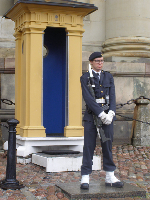 Royal Palace Guard, Stockholm