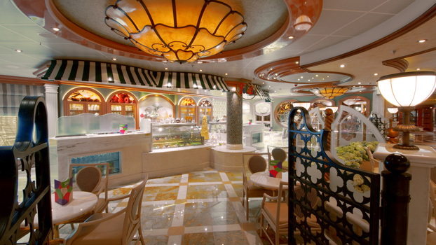 Royal Princess Gelato Shop