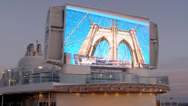 Royal Princess Giant TV