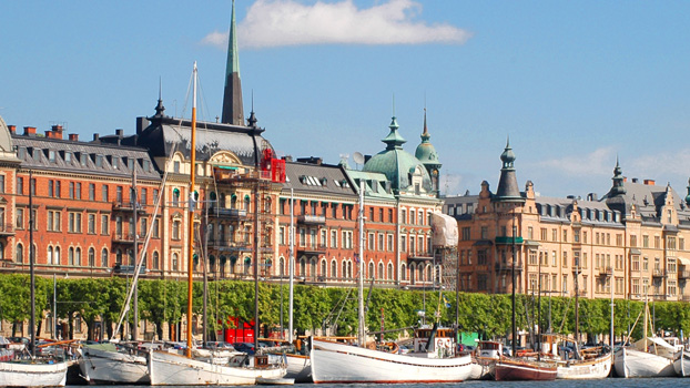 Swedish Royal Palace and Parliament, Stockholm