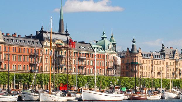 Swedish Royal Palace and Parliament, Stockholm