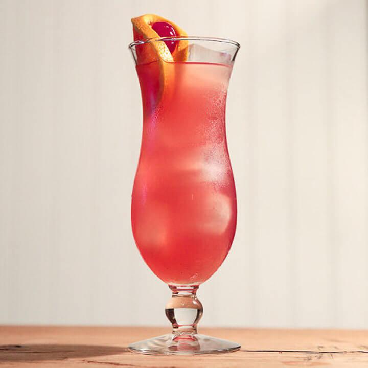 Hurricane Cocktail Portside Cuisine